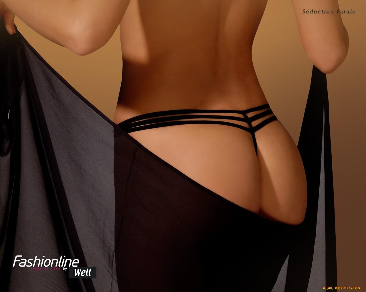 Фото девушка в чёрных стрингах 22 фотография